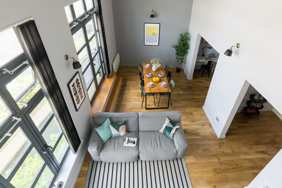 Canalside Loft Penthouse Apartment - Coventry, United Kingdom