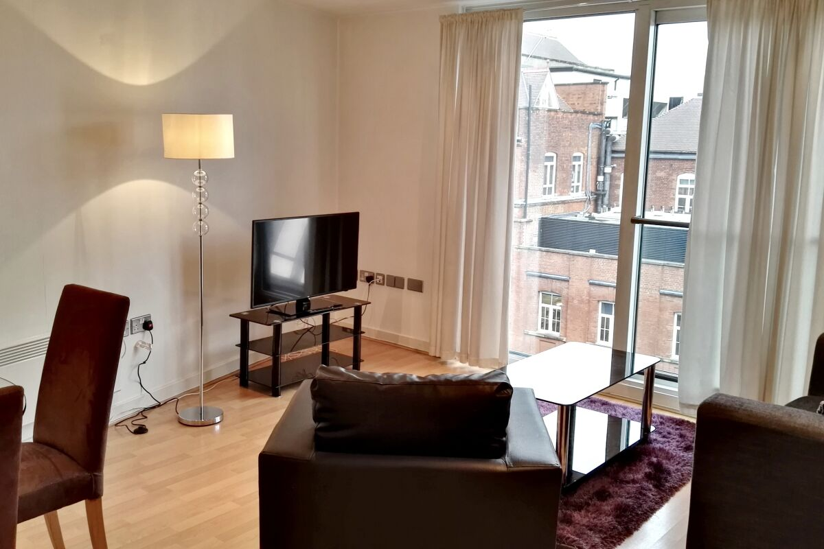 Living Area, Clerkenwell Executive Serviced Apartments, Clerkenwell