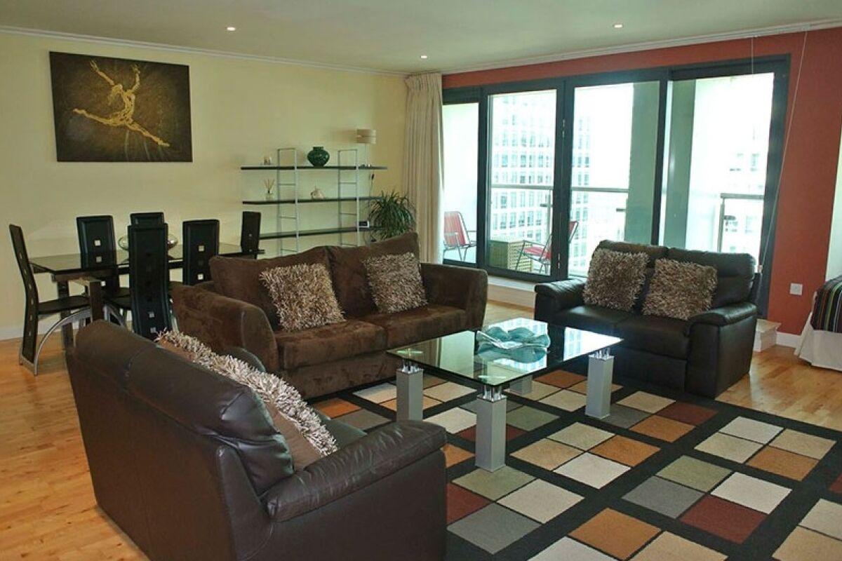 Living Area, Discovery Dock East (Z), Canary Wharf