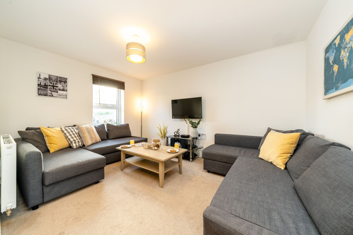 Living Area, Pilot's Retreat Serviced Accommodation, Downham Market