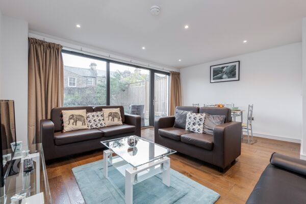 Living Area,  Greenwich Serviced Apartment, London