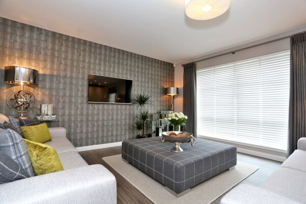 Living Area, Priory Park Serviced Apartments, Aberdeen