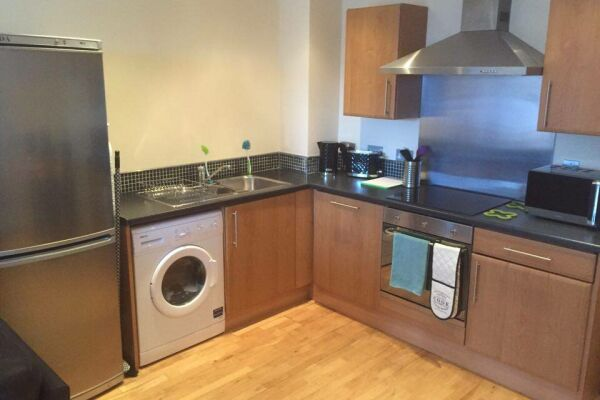 Kitchen, Liverpool Serviced Apartments, Liverpool