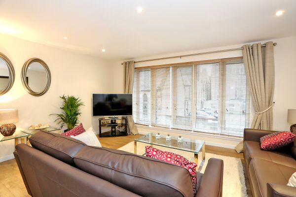 Living Area, Dempsey Serviced Apartments, Aberdeen
