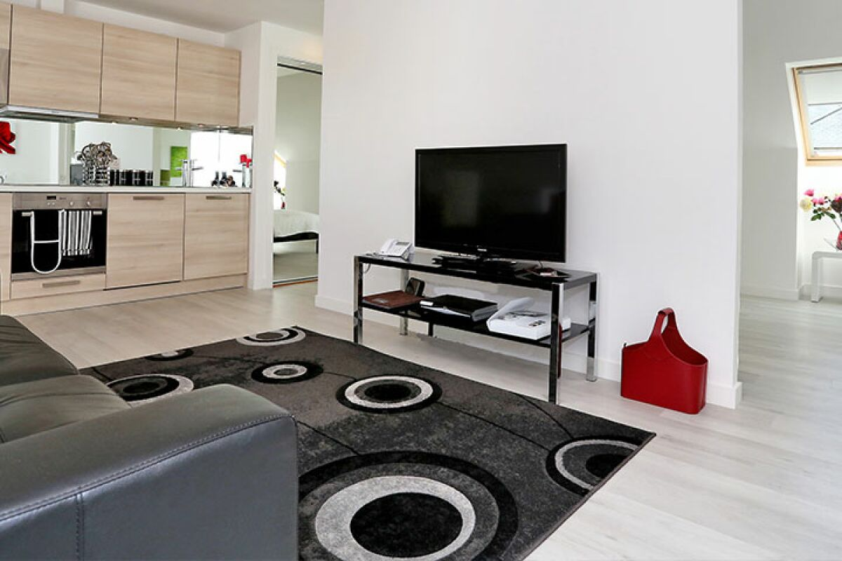 Living Area, Summer Street Serviced Apartments, Aberdeen