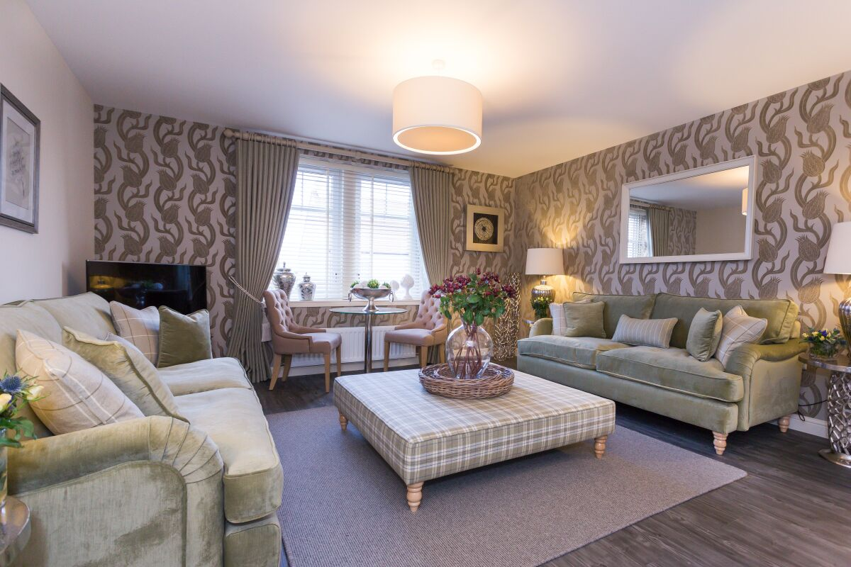 Living Area, Charleston Serviced Apartments, Aberdeen