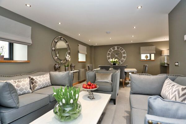 Living Area, West Cults Serviced Apartments, Aberdeen