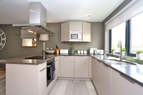 Kitchen, West Cults Serviced Apartments, Aberdeen