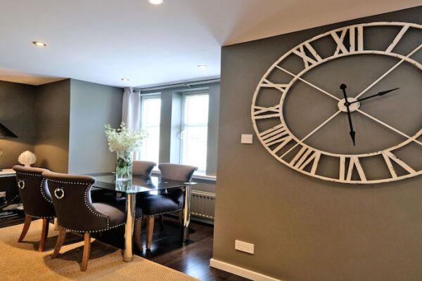 Dining Area, Ferryhill Serviced Apartments, Aberdeen