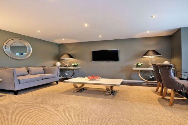 Living Room, Ferryhill Serviced Apartments, Aberdeen