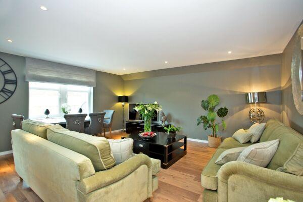 Living Area, Ferryhill Serviced Apartments, Aberdeen