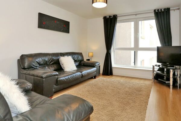 Living Room, Dee Village Serviced Apartments, Aberdeen