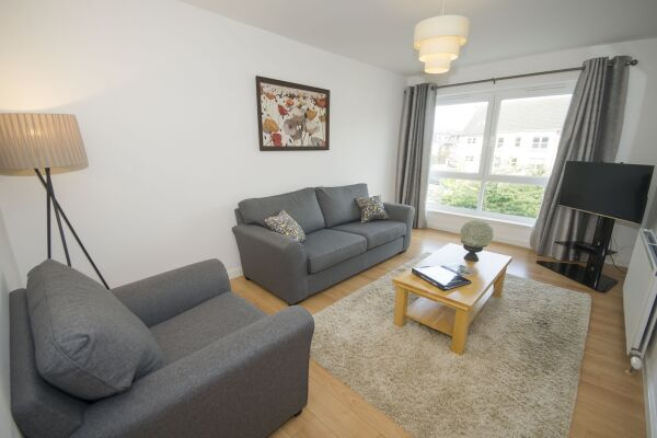Living Area, Portland Street Serviced Apartments, Aberdeen