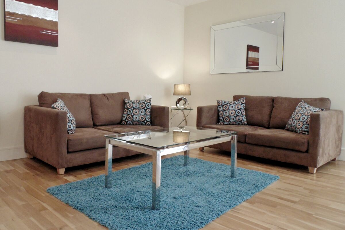 Sitting Area, Great Suffolk Street Serviced Apartment, Southwark