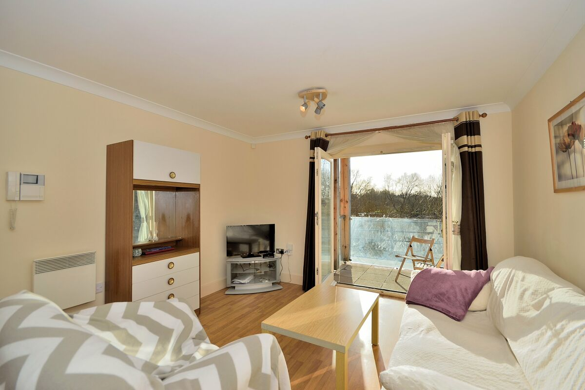 Living Area, The Wharf Serviced Apartment, Chester
