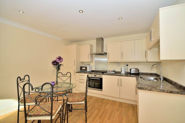Dining Area and Kitchen, The Wharf Serviced Apartment, Chester