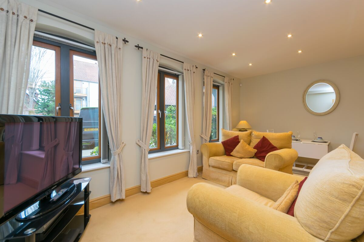 Living Area, Foregate Street Serviced Apartments, Chester