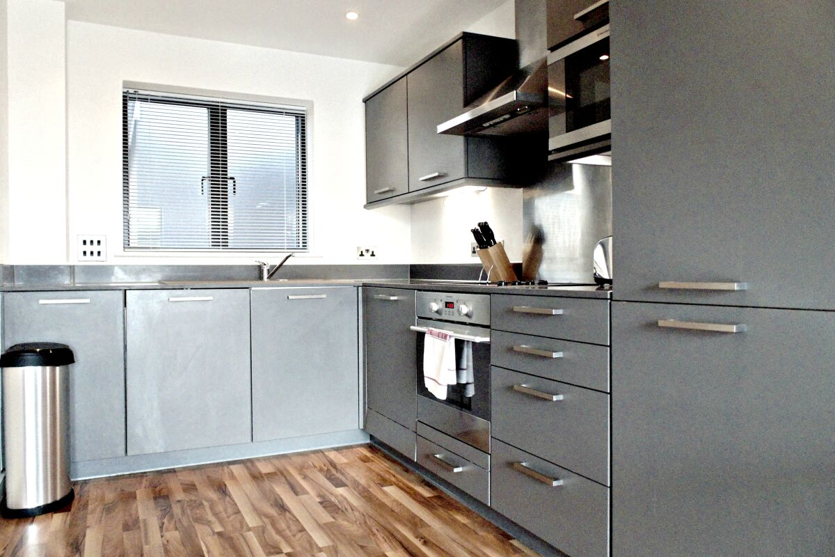 Kitchen, King's Cross Serviced Apartments, Kings Cross