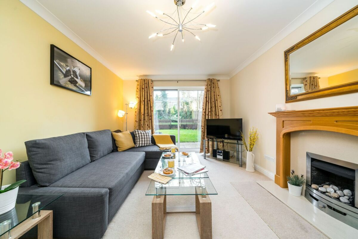 Living Area, Swan Quay Serviced Accommodation, Downham Market