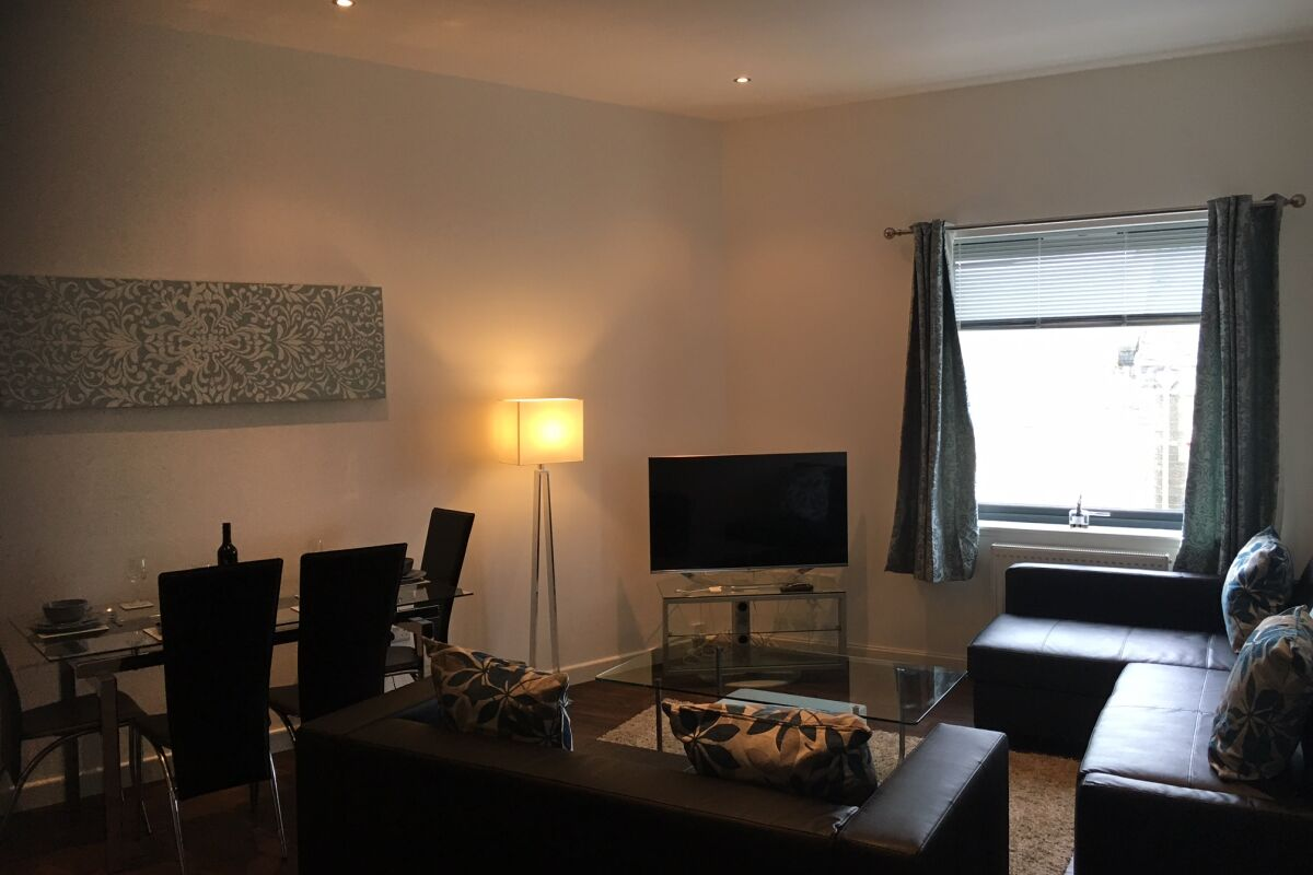 Living and Dining Area, Central Tranent Serviced Apartments, Tranent, East Lothian