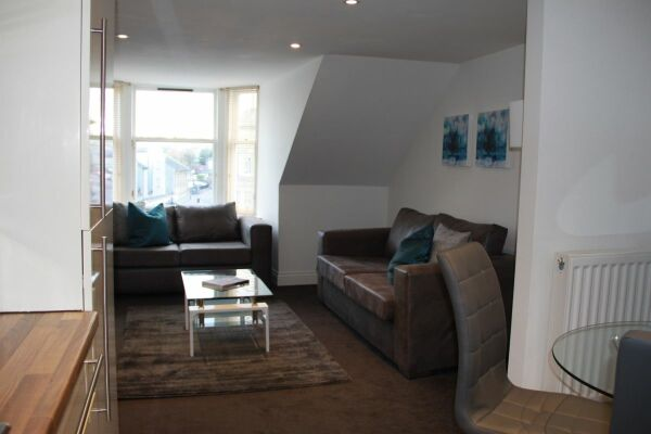 Living Area, Musselburgh High Street Serviced Apartments, Musselburgh, East Lothian