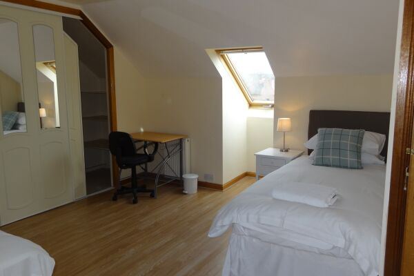 Bedroom, Musselburgh Serviced Apartment, Musselburgh
