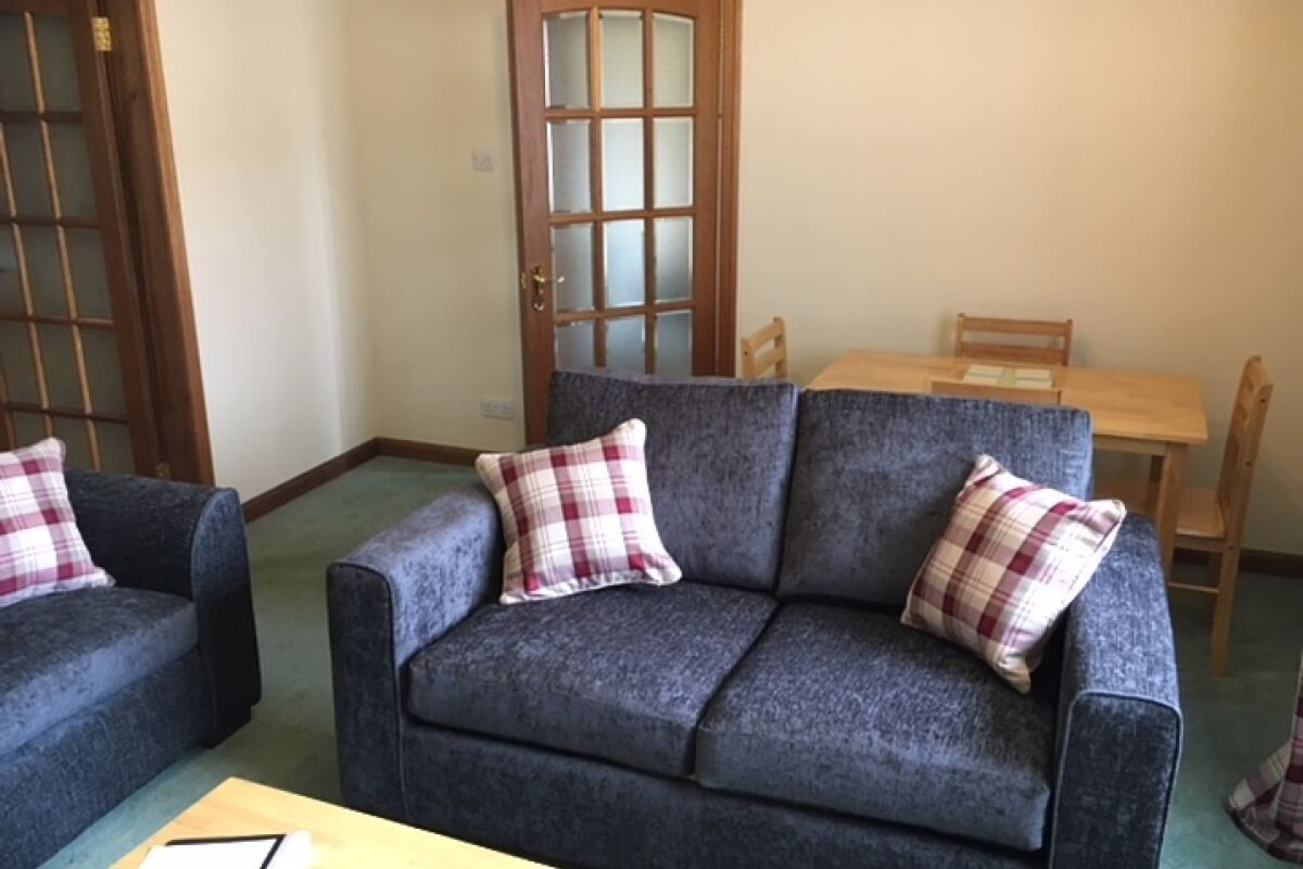 Living Area, Aberlady Serviced Accommodation, Aberlady