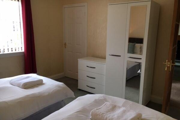 Bedroom, Aberlady Serviced Accommodation, Aberlady