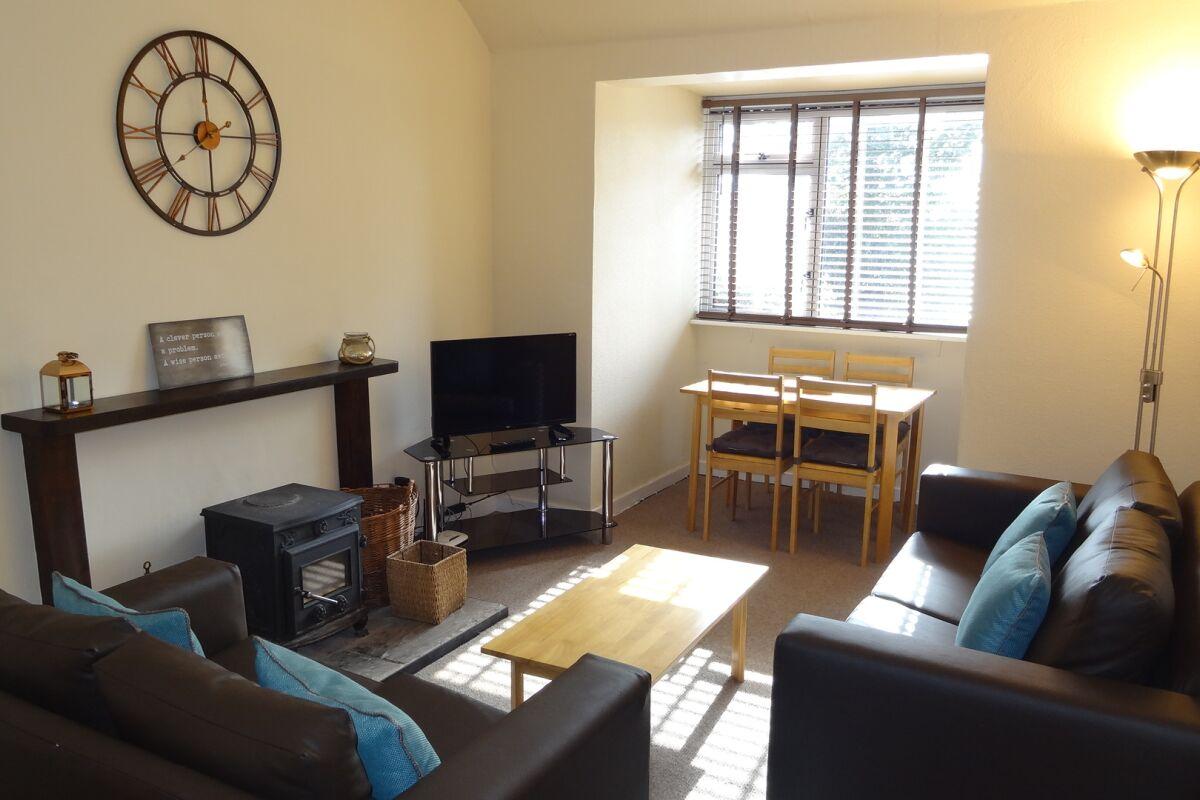 Living Area, East Linton 3 Serviced Accommodation, East Linton