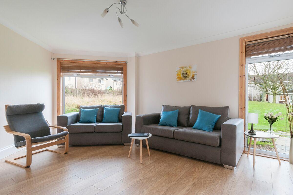 Living Area, Tranent House Serviced Accommodation, Tranent