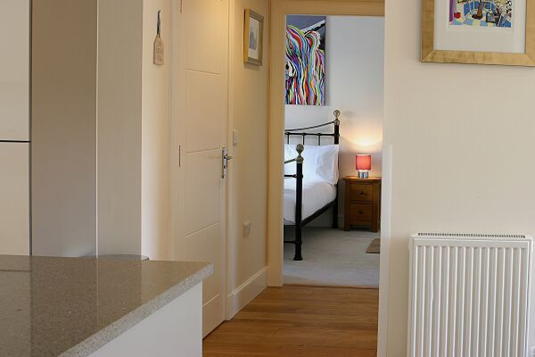 Hallway, Henderson Street Serviced Apartments, Stirling