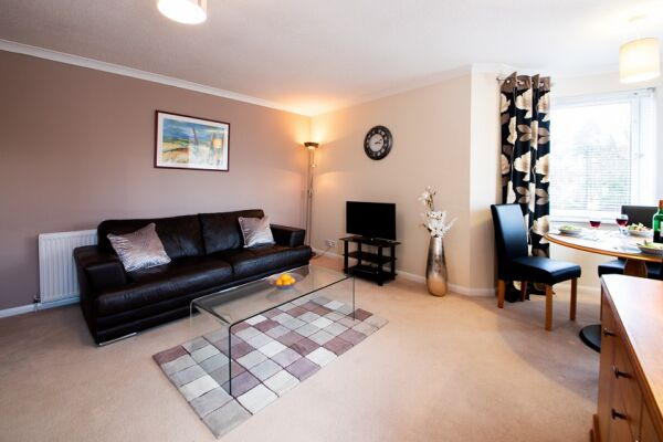 Living Area, Great Western Road Serviced Apartments, Aberdeen