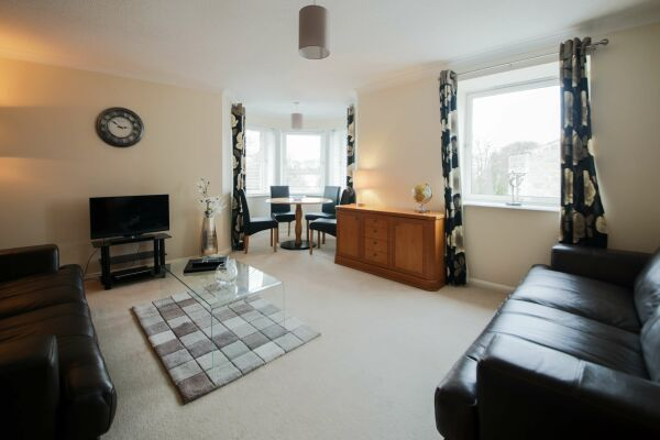 Living room, Great Western Road Serviced Apartments, Aberdeen