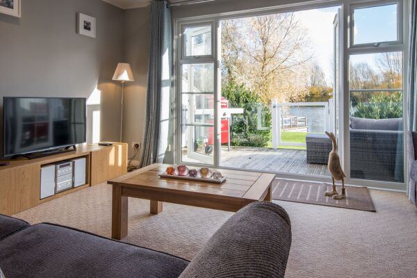Living Area, Irel Serviced Accommodation, Cirencester
