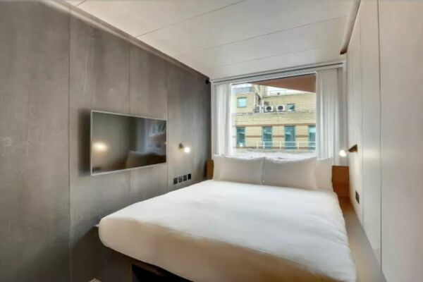 Bed Area, Stow-Away Waterloo Serviced Accommodation, London