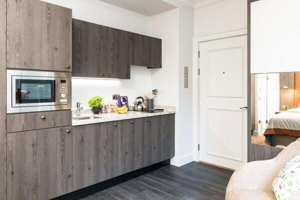 Kitchen, Vincent Serviced Apartments, Glasgow