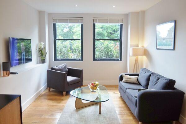 Living Room, Twickenham Fraser Serviced Apartments, London
