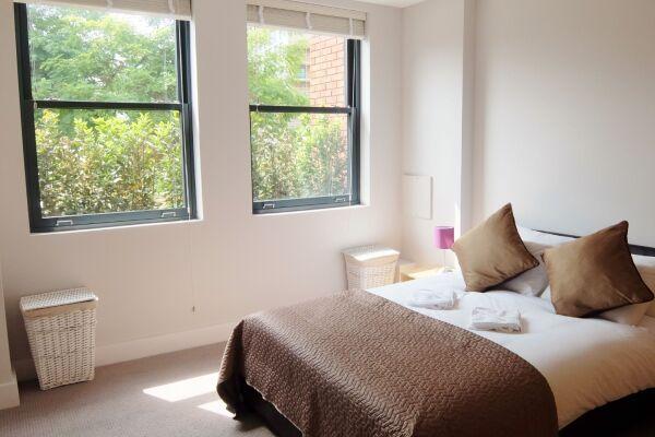 Bedroom, Twickenham Fraser Serviced Apartments, London