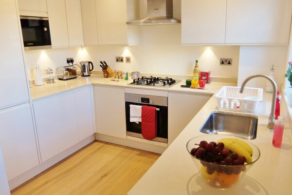 Kitchen, Twickenham Newland Serviced Apartments, Twickenham