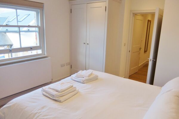 Bedroom, Twickenham Newland Serviced Apartments, Twickenham