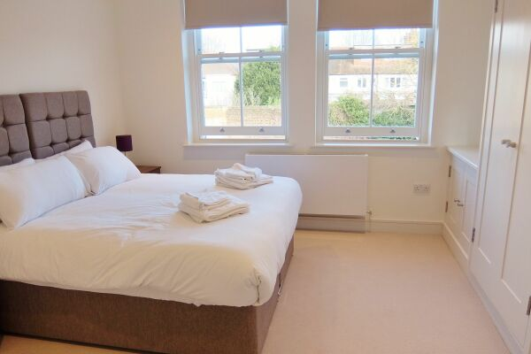 Bedroom, Twickenham Newland Serviced Apartments, Twickenham