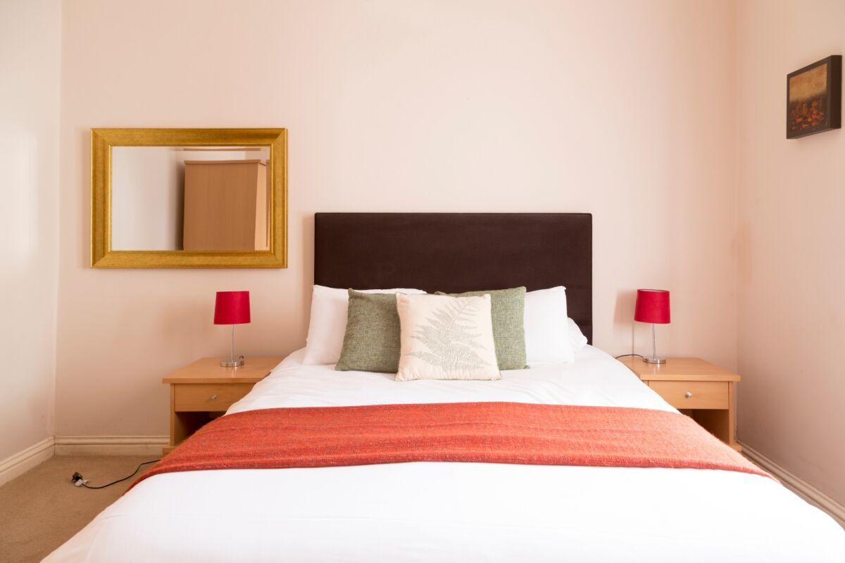 Bedroom, Norwich Street Serviced Apartments, Cambridge