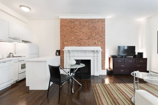 Studio Common Area, 155 West Serviced Apartments, New York