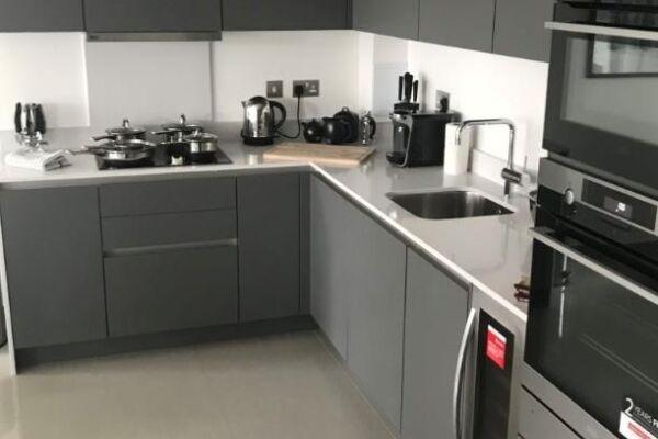 Kitchen, Blackfrairs Road Serviced Apartments, London