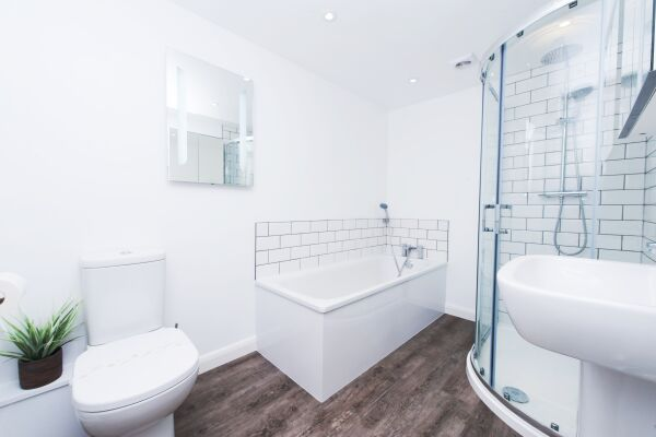 Bathroom, Primrose Corner Serviced Apartments, Ramsgate
