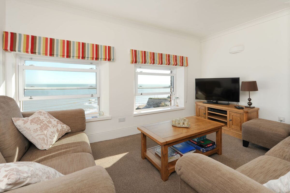 Living Area, Viking View Serviced Apartments, Broadstairs, Kent