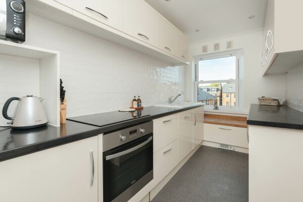 Kitchen, Viking View Serviced Apartments, Broadstairs, Kent
