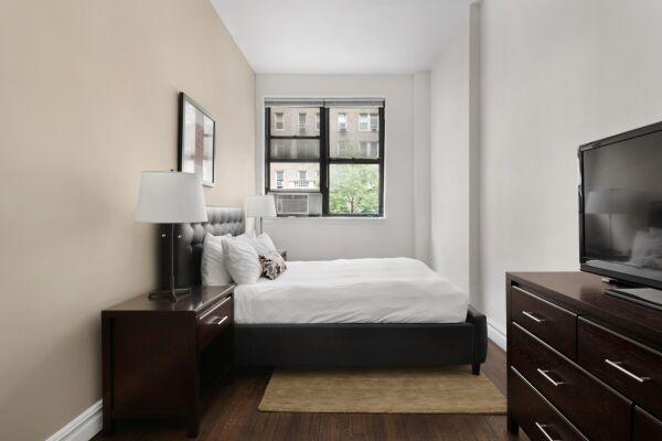 Bedroom, 142 West Apartments, New York