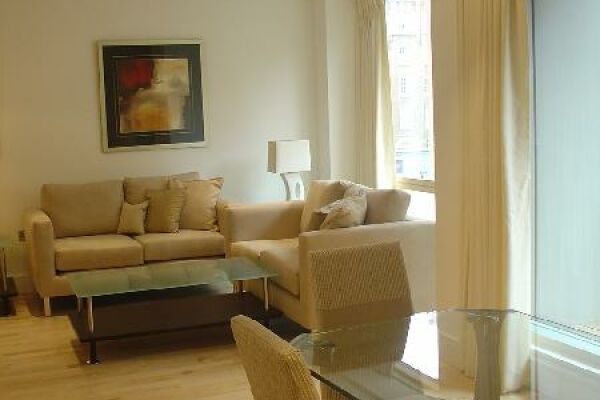 Living Room, New Palace Place Serviced Apartments, Westminster, London