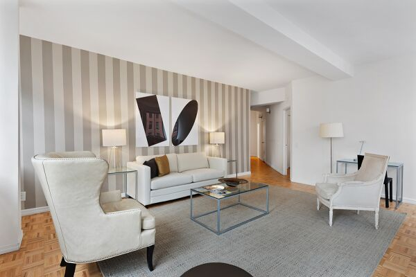 Living area, The Fairfax Apartments, Serviced Accommodation, New York